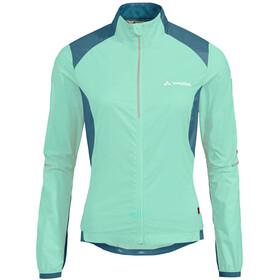 VAUDE Air Pro Jacket Women, zielony/niebieski